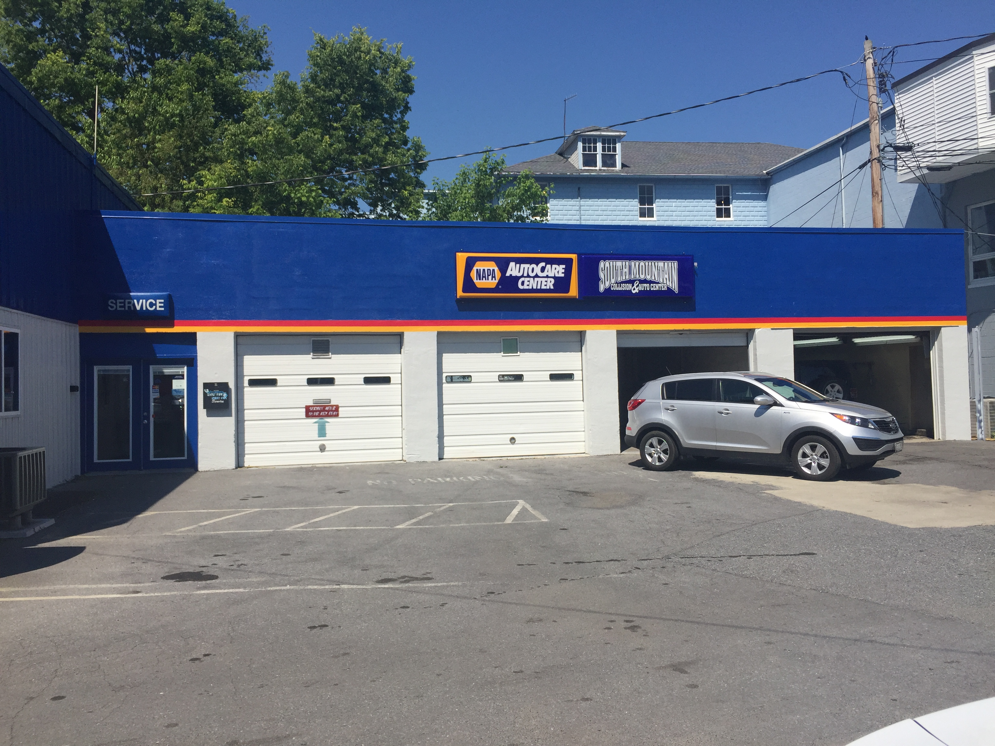 South mountain collision auto center middletown md for Mountain motors frederick md
