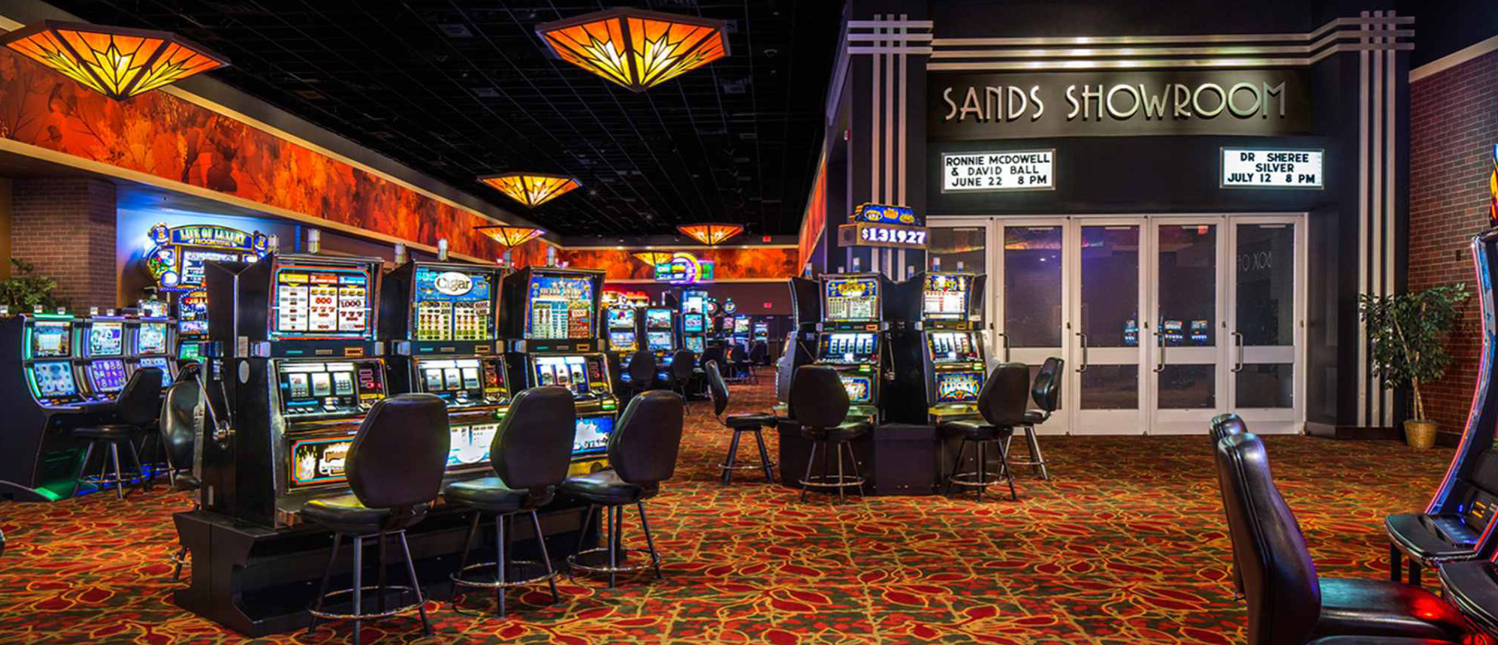 Leelanau sands casino events