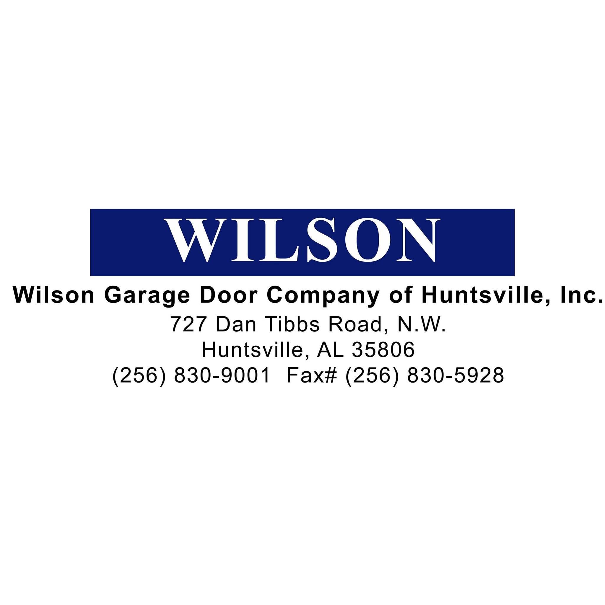 Wilson Garage Door Company of Huntsville