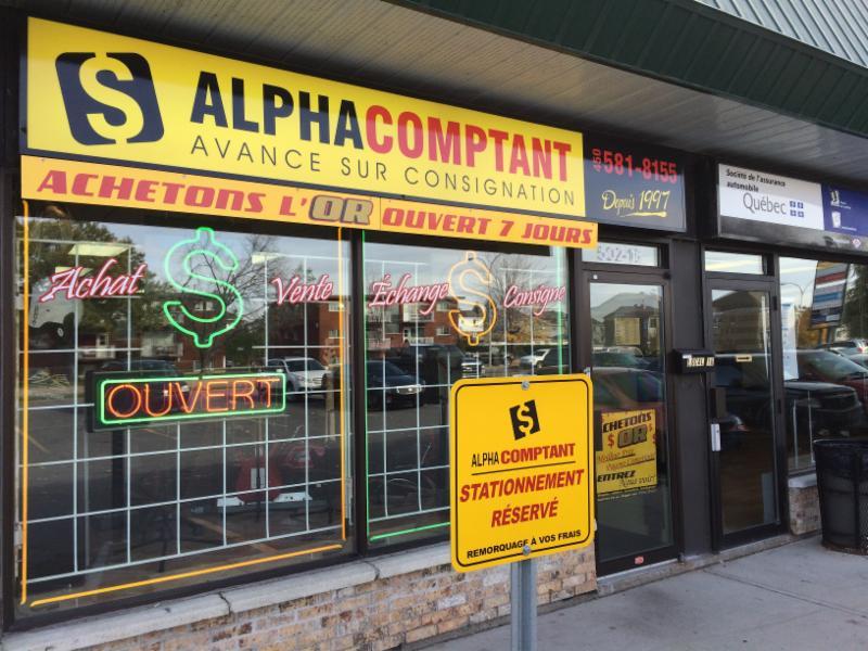 Alpha Comptant à Repentigny