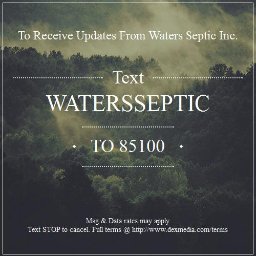 Waters Septic Tank Service, Inc. image 0