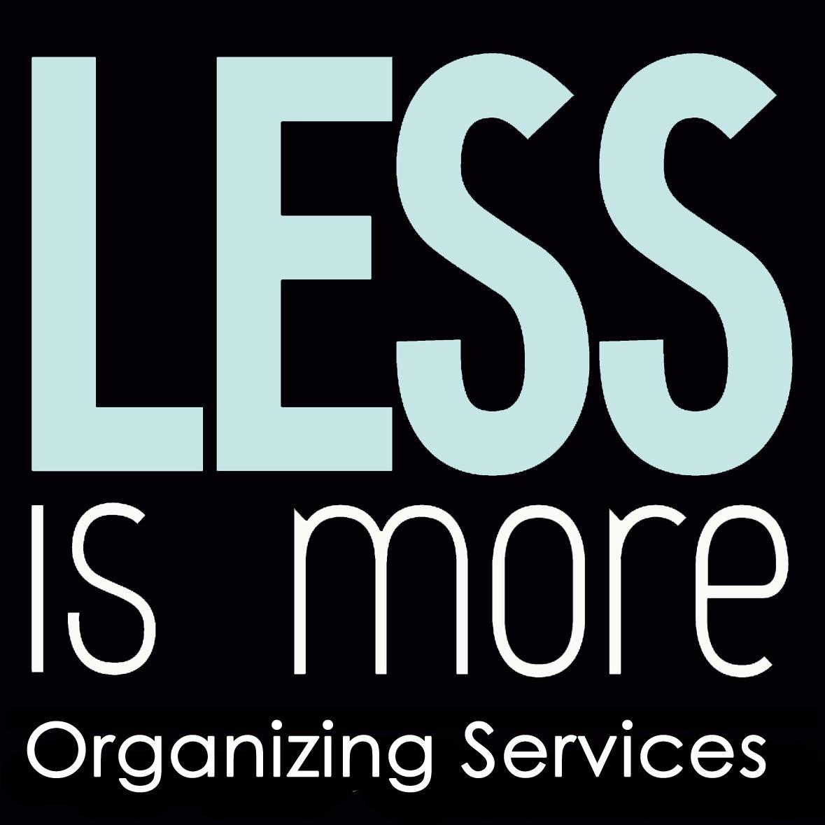 Less is More Organizing