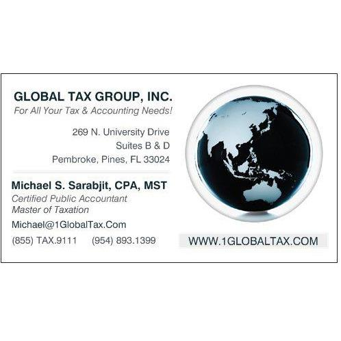 Michael S Sarabjit, CPA, MST - Global Tax Group, Incorporated image 0