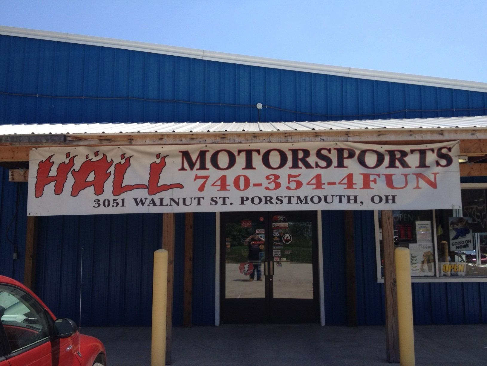 Hall Motor Sports In Portsmouth Oh 740 354 4