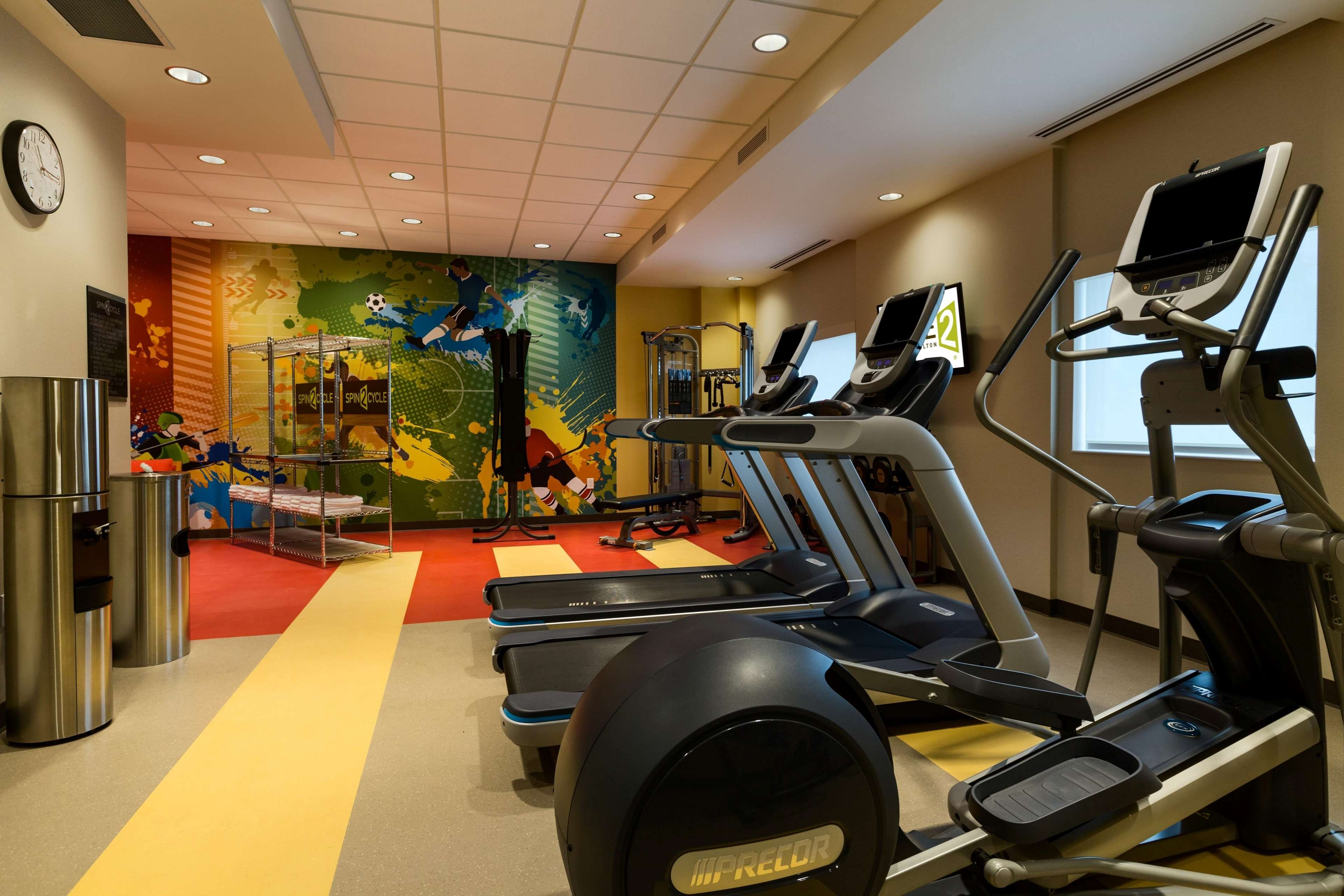 Home2 Suites by Hilton West Edmonton, Alberta, Canada in Edmonton: Spin 2 Cycle Fitness Center