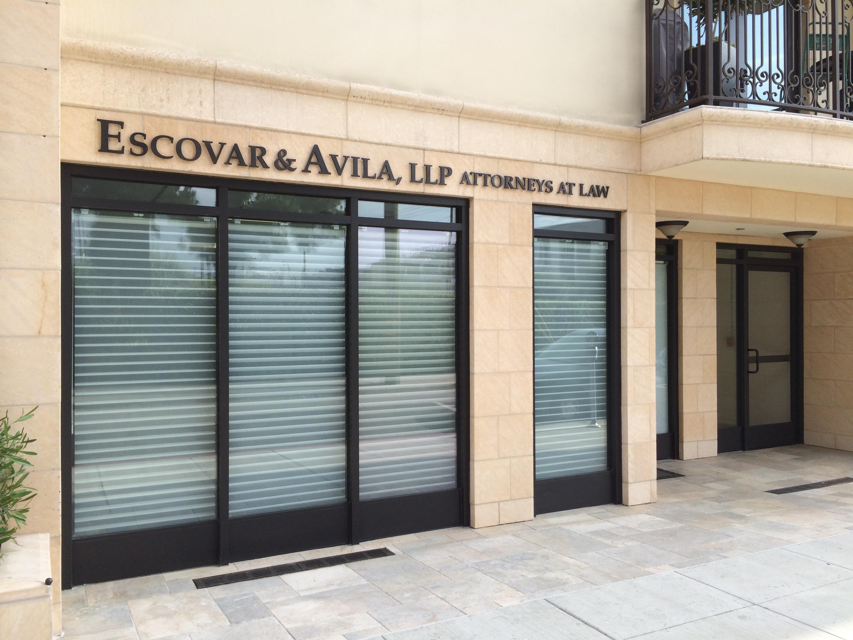 Escovar & Avila, LLP - ad image