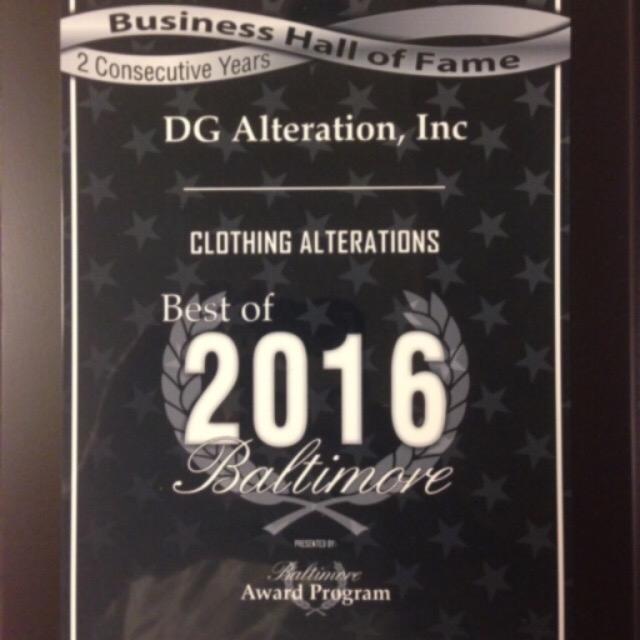 DG Alteration, Inc image 2