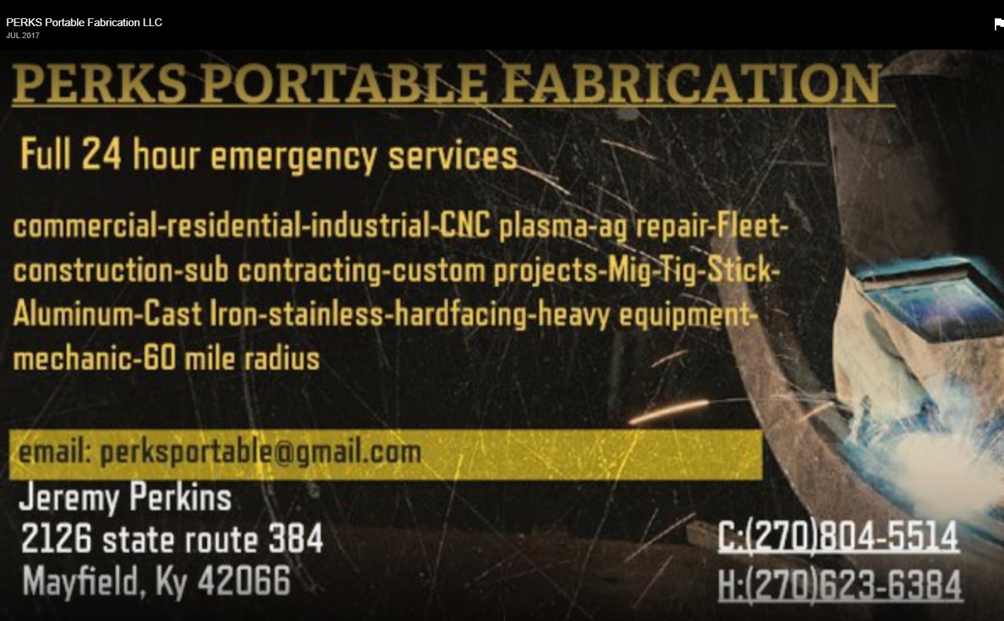 PERKS Portable Fabrication LLC image 9