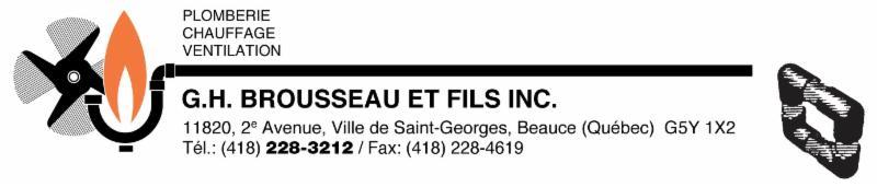 G H Brousseau & Fils Inc à Saint-Georges