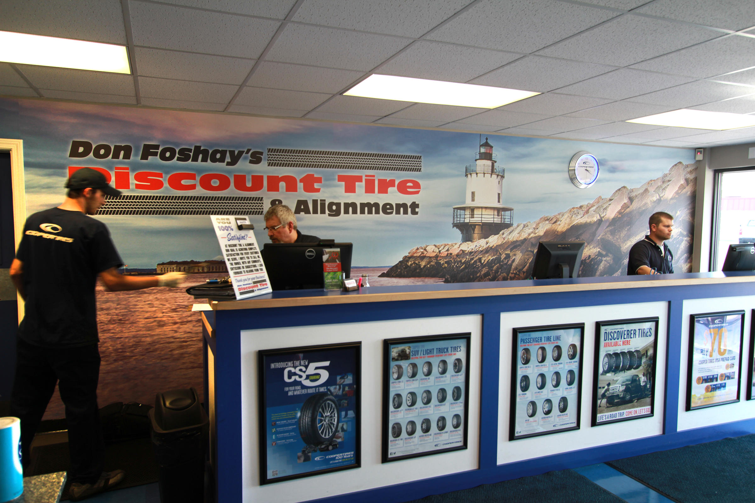 Don Foshay S Discount Tire And Alignment South Portland Tire Shop