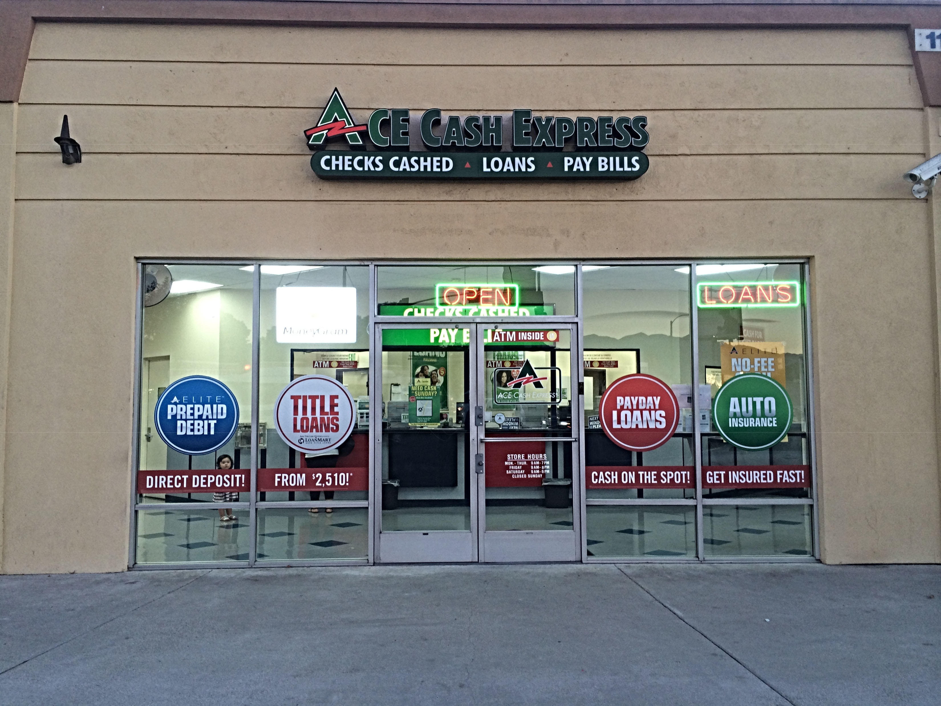 ACE Cash Express - Closed