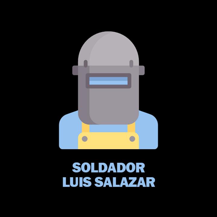 Soldador Luis Salazar