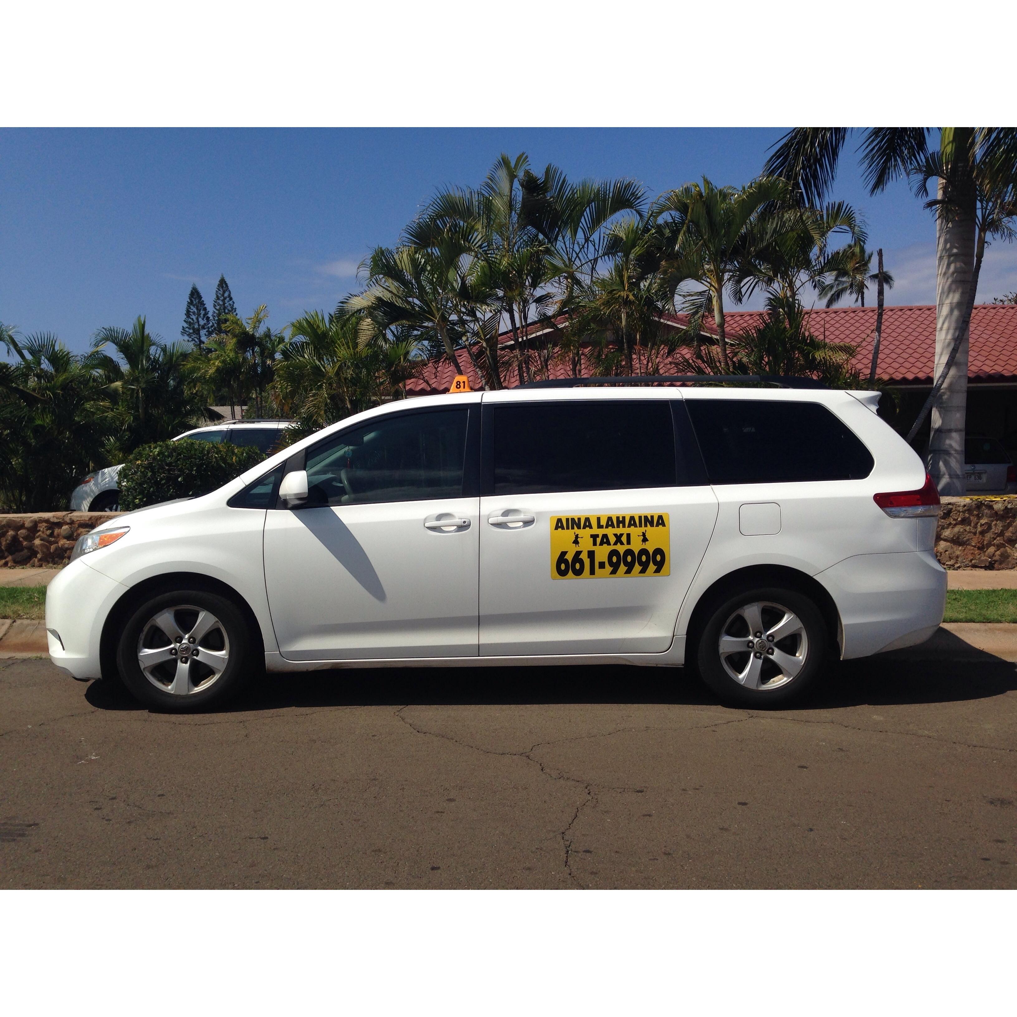 image of the Aina Lahaina Taxi