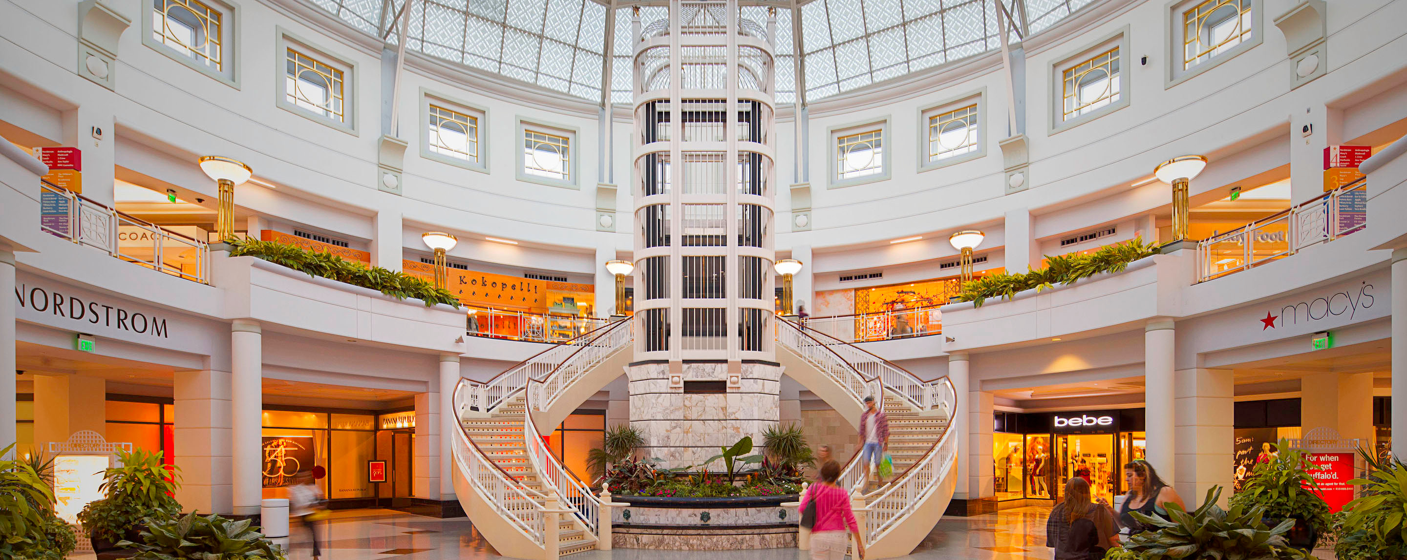 Towson Town Center is a large indoor shopping mall located in Towson, Maryland. It was the largest indoor shopping mall in Maryland prior to the completion of Arundel Mills in late in Hanover and the expansion of the Annapolis Mall.