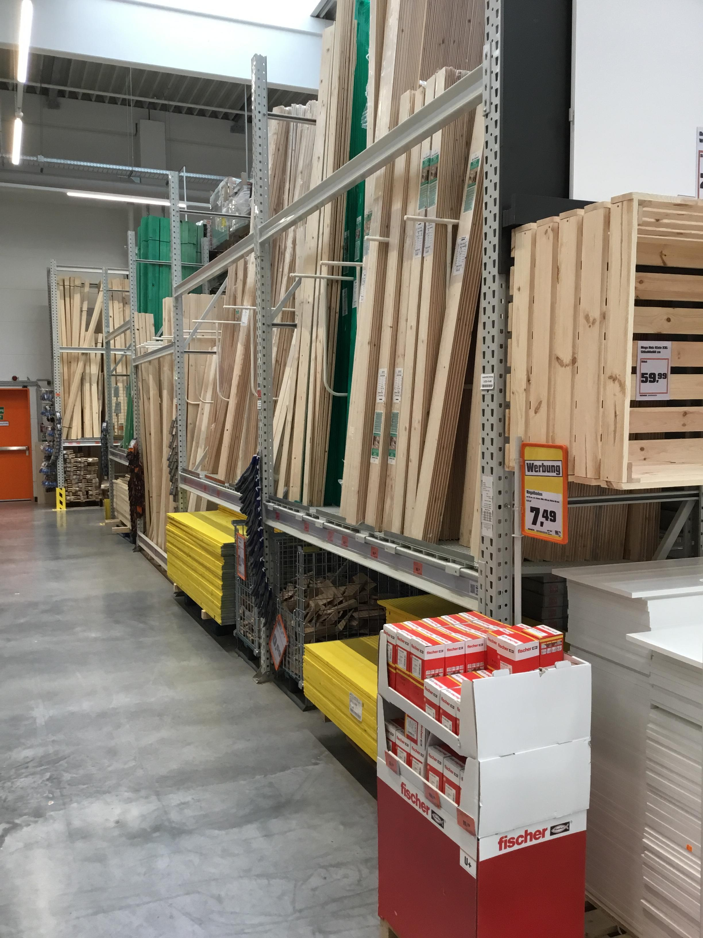Ein kleiner Einblick in unsere Holzabteilung