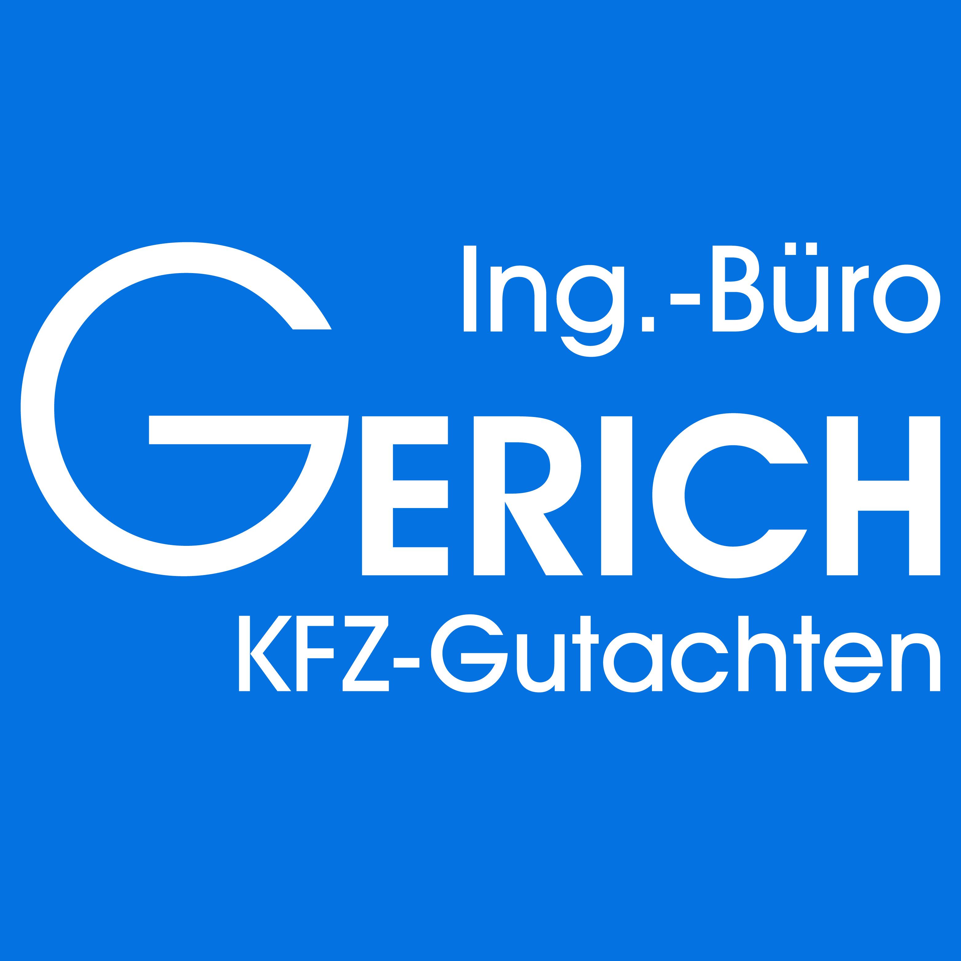 Gerich Dipl.-Ing. öffentlich  best. und vereid. KFZ-Sachverständiger