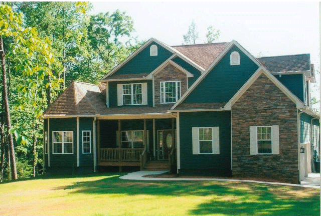Trinity Custom Homes At 15230 Hwy 515 South Ellijay Ga