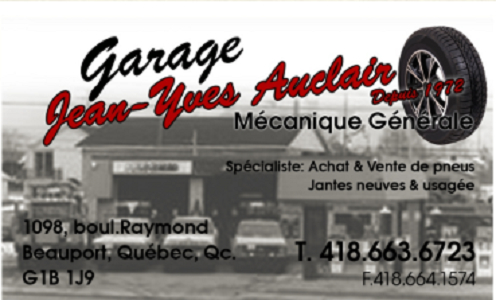 Garage Jean-Yves Auclair (1987) Enr