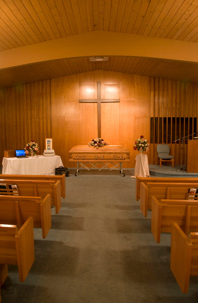 Maple Ridge Funeral Chapel & Crematorium in Maple Ridge: Maple Ridge Funeral - Chapel (Seats up to 250)