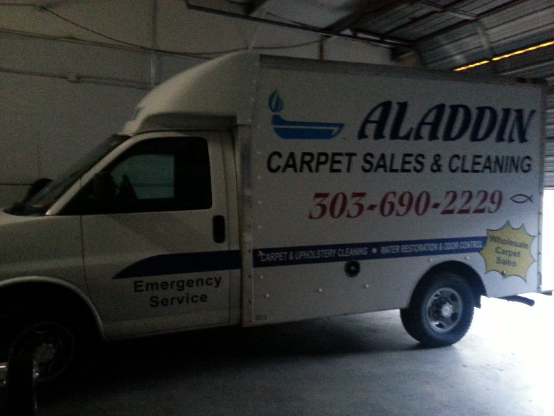 Aladdin Carpet Cleaning & Sales LLC image 1