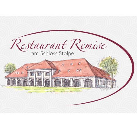 """Logo von Restaurant """"Remise"""" Schloss Stolpe - Insel Usedom"""