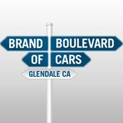 Brand Boulevard of Cars