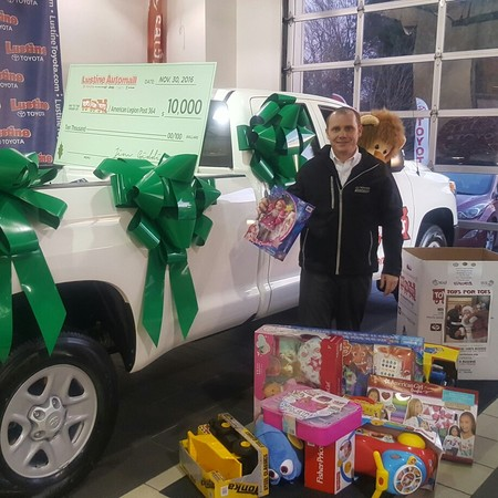 Operation Toys For Tots Has Been Amazing Success At Lustine ...