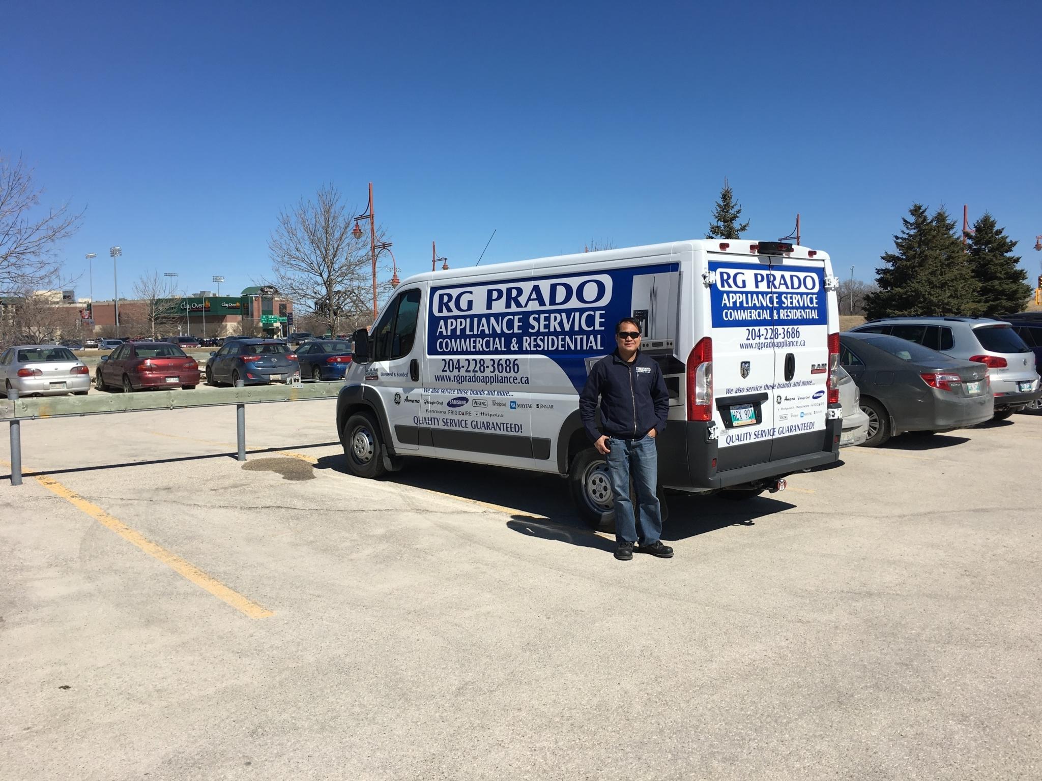 Rgprado Appliance Service Winnipeg