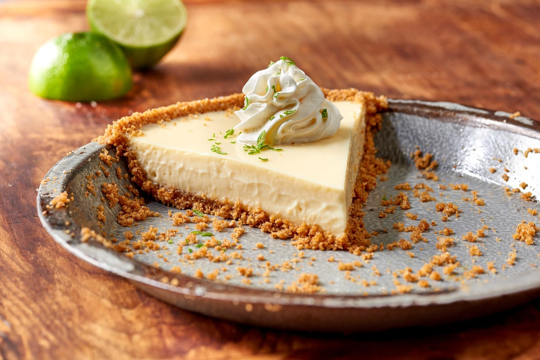 Key Lime Pie - made from scratch!
