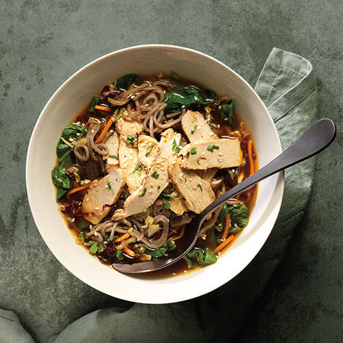 New Soba Noodle  Bowl with Chicken