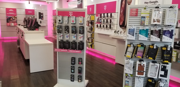 Interior photo of T-Mobile Store at Bergenline & 66th 2, West New York, NJ