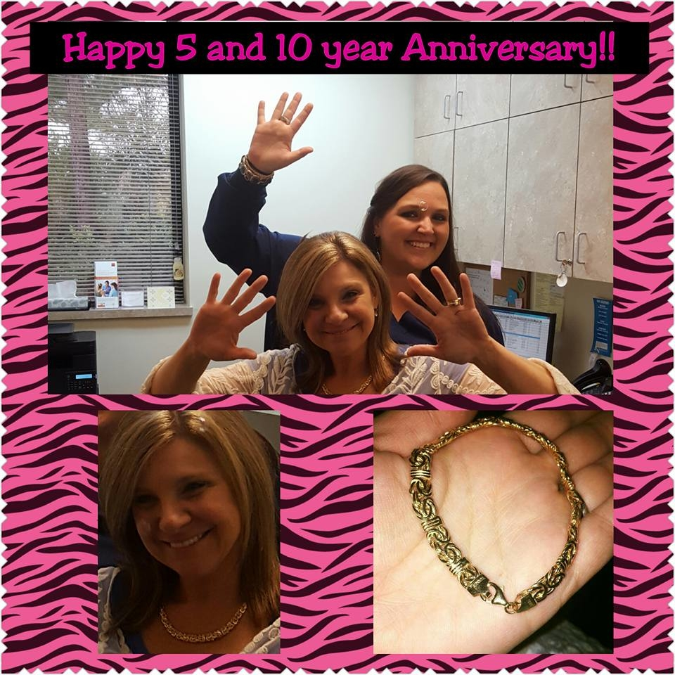 WOO-HOO, More Milestones at Cedar Road! Happy 5 and 10 year Anniversary to these crazy ladies!! Thank you for 10 Jersey-girl-fun-filled and FAR from ordinary years Laura Certa!!! And for 5 years of Lo