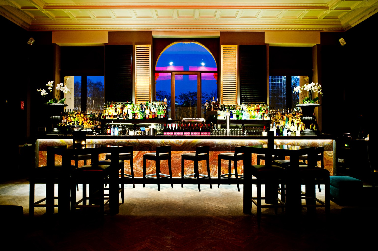 Onyx Bar in der Kameha Suite