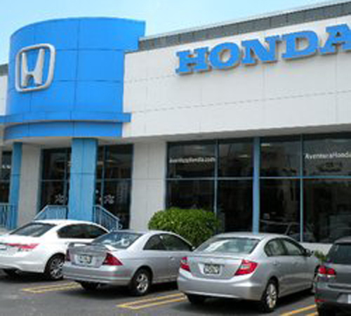 Used Car Dealerships In Miami: Honda Of Aventura In North Miami Beach, FL 33162