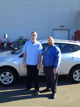 Let Our Kelly Nissan Of Woburn Sales Consultant Shawn Crowley (right)  Alongside One Of Our Happy ...