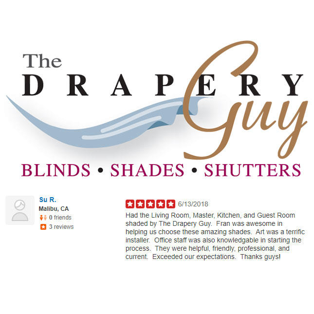 The Drapery Guy - Window Treatments Westlake Village image 27