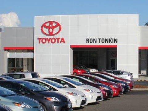 Ron tonkin toyota at 750 se 122nd ave portland or on fave for Gresham honda service