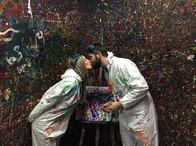 Splatter Room (TM) Date Night to Remember!