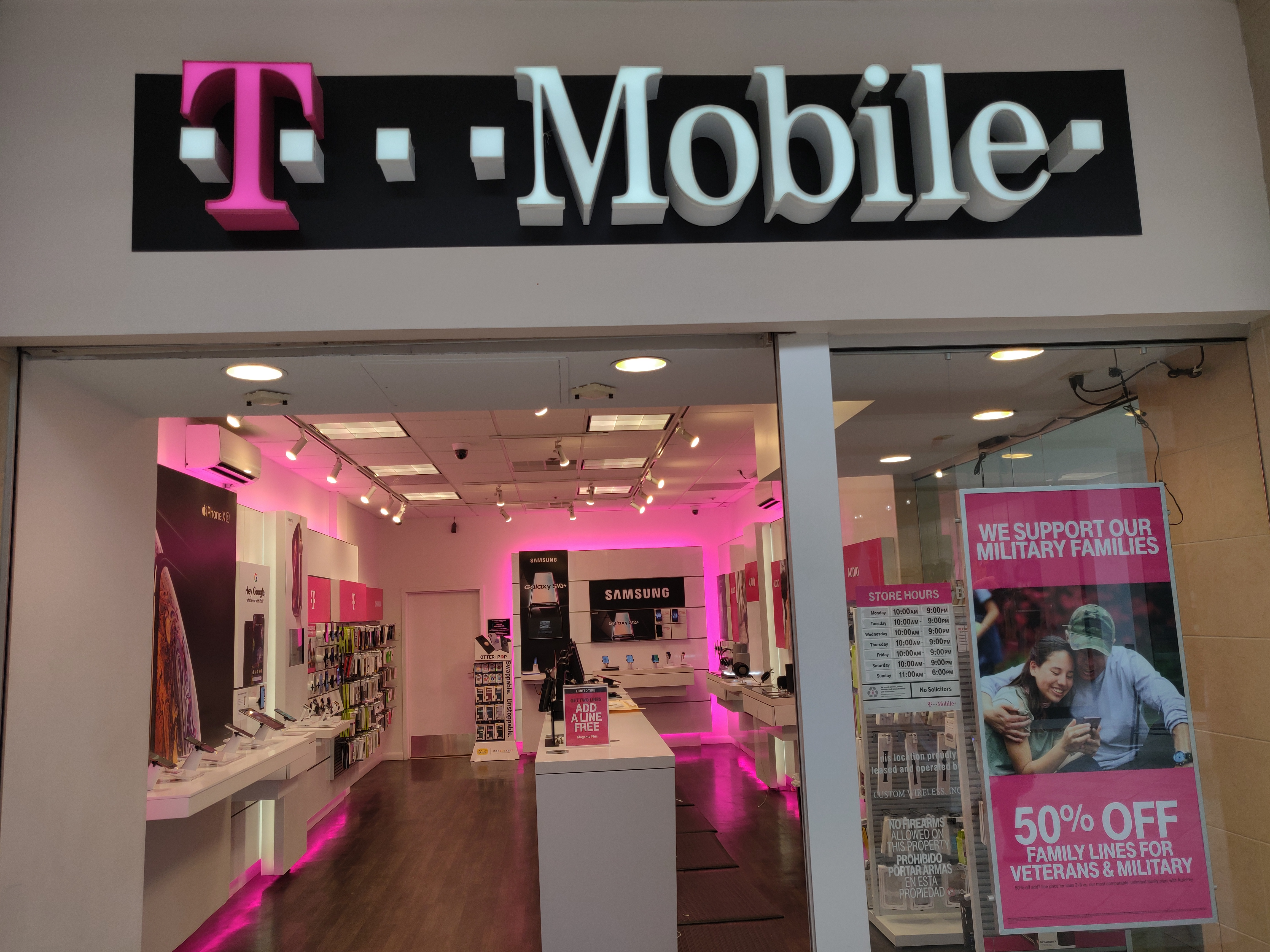Cell Phones, Plans, and Accessories at T-Mobile 1500 South ...