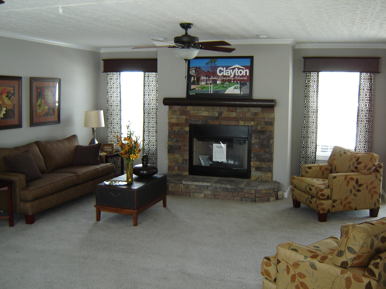 Clayton Homes - Mobile Home Dealer - Georgetown, KY 40324 on one-bedroom mobile homes with fireplace, clayton mobile homes floor plans, manufactured fireplace inserts for fireplace,