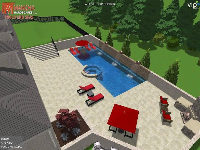 Mancha Hardscapes Pools  and  Spas image 5