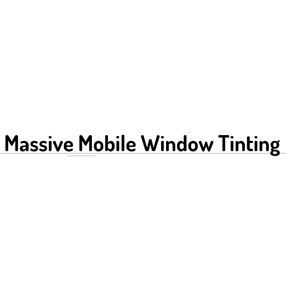 Massive Mobile WIndow Tinting