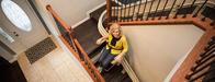 Kraus Bruno Elan Elite CRE2110 Curved San Francisco StairLifts