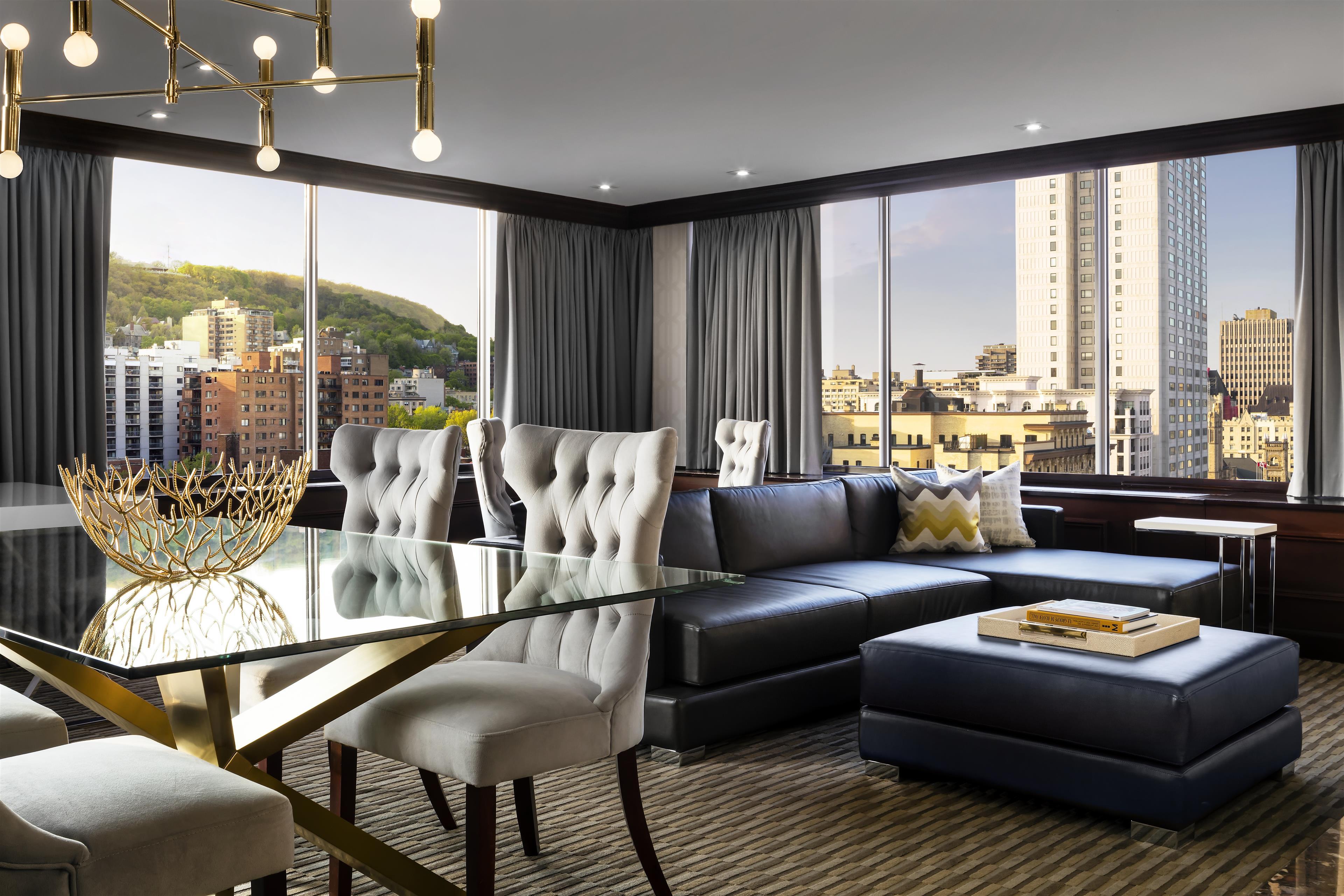 Le Méridien Versailles à Montreal: Penthouse Living Room