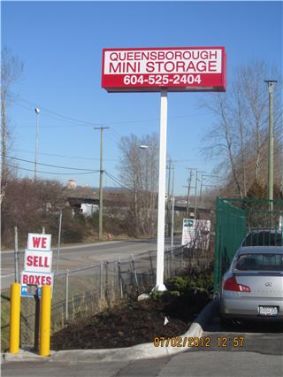 Queensborough Mini Storage in New Westminster