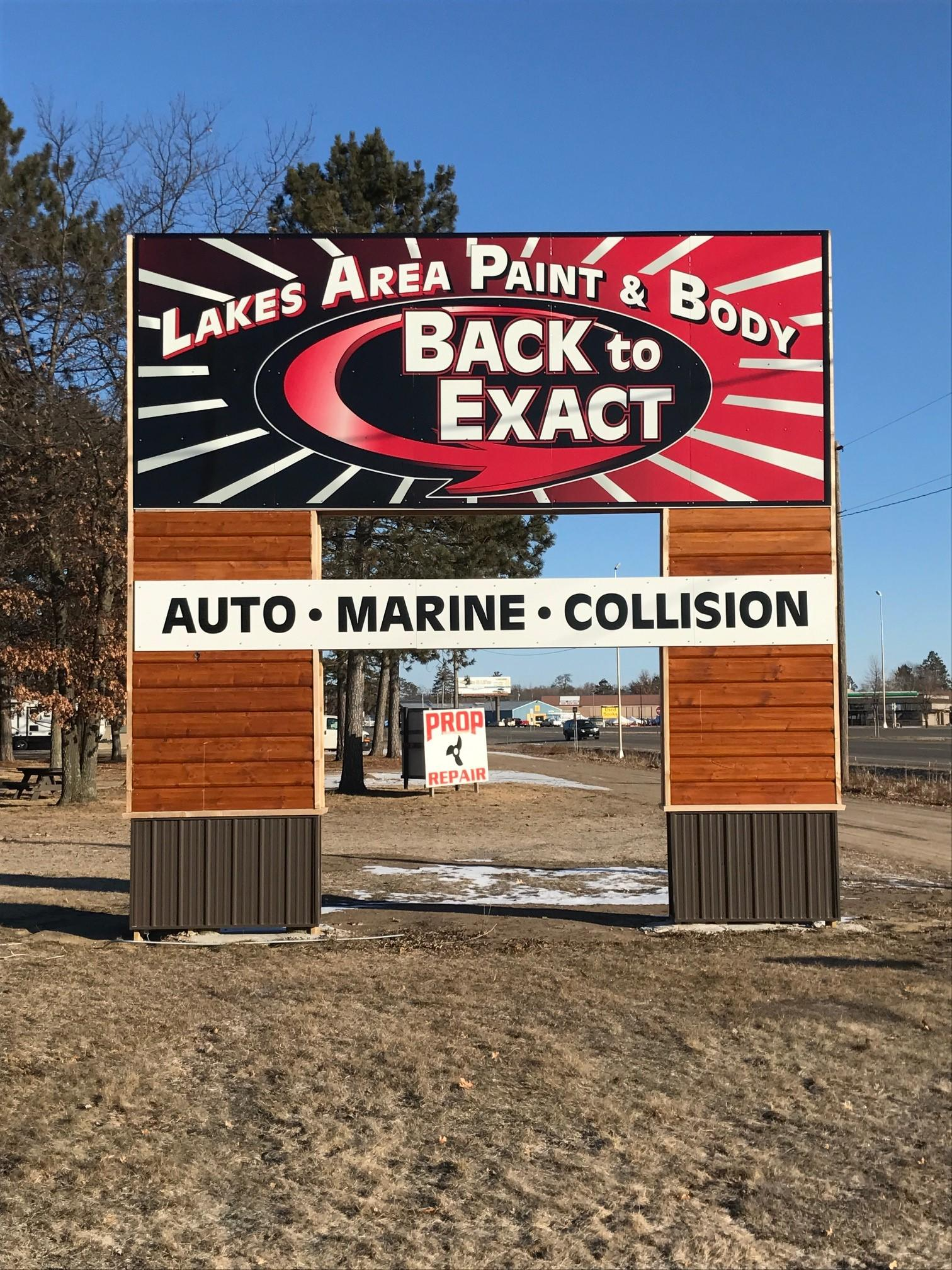 Lakes Area Paint & Body image 0