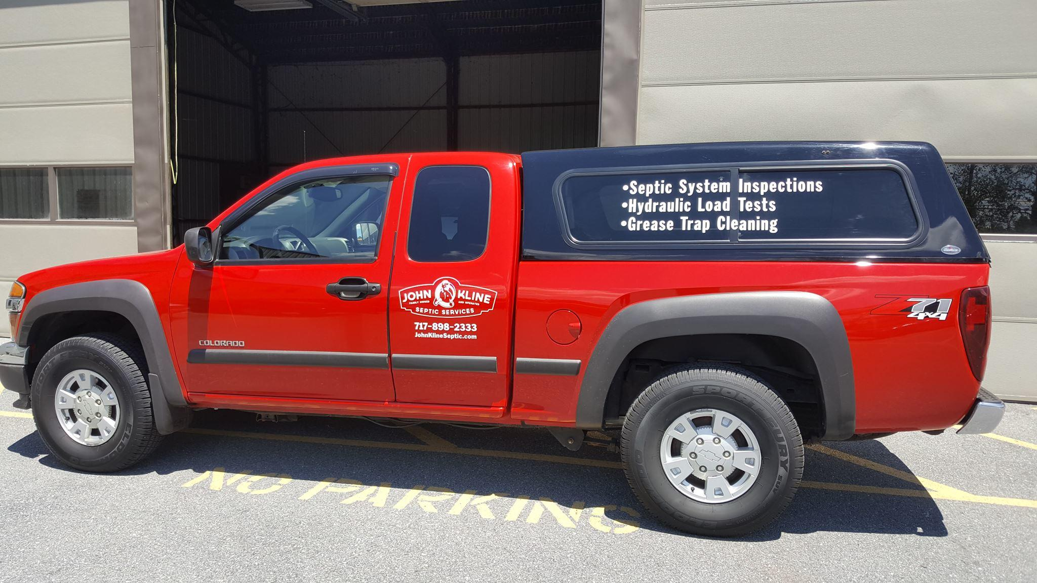 John Kline Septic Services 3869 Old Harrisburg Pike Mount