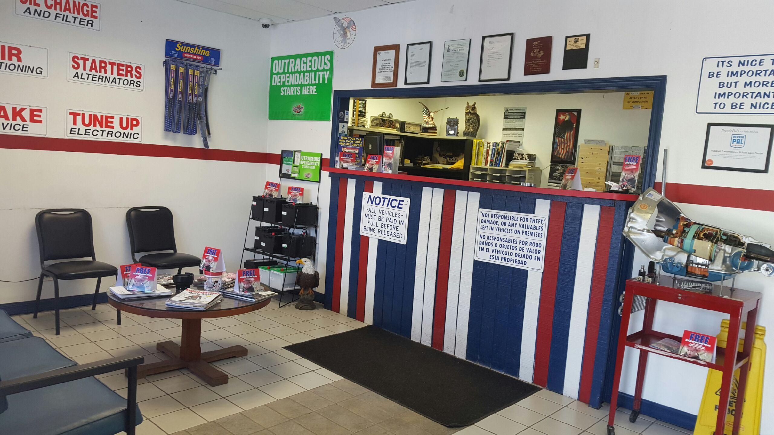 National Transmissions Auto Care Centers Boynton Beach Fl