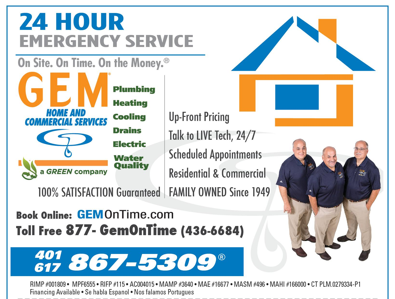 Gem Plumbing & Heating Services, Inc. image 1