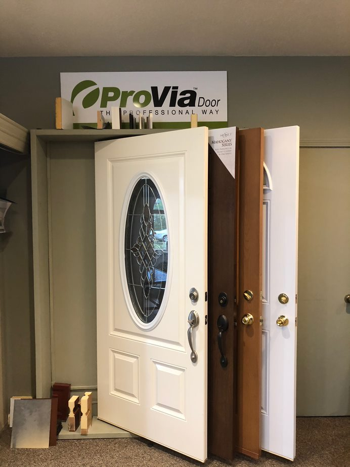 We have several door styles available.